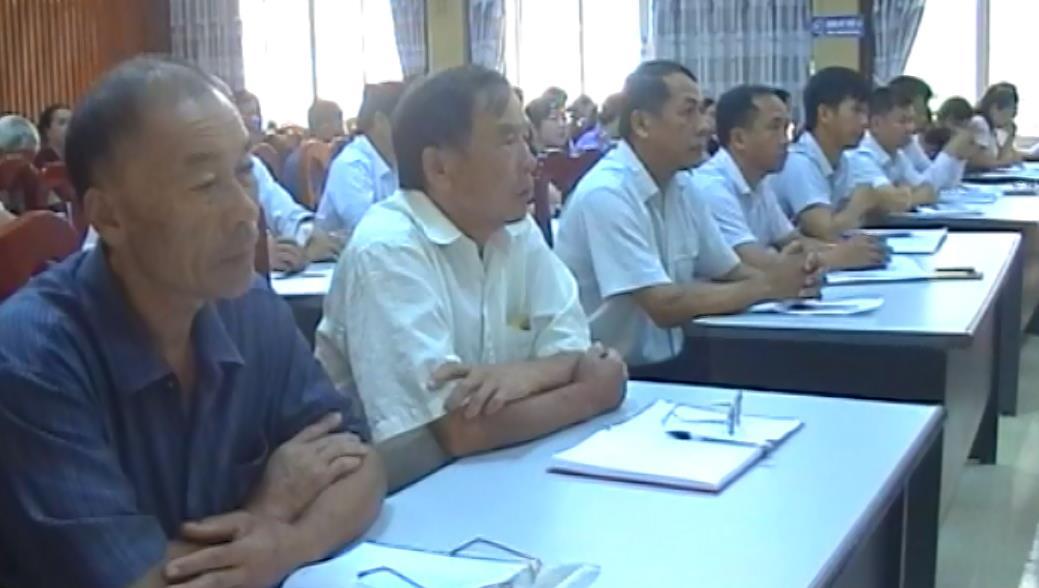 Đại biểu HĐND tỉnh tiếp xúc cử tri huyện Hạ Lang