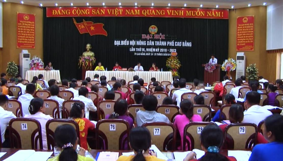 Đại hội đại biểu Hội Nông dân thành phố Cao Bằng nhiệm kỳ 2018 - 2023