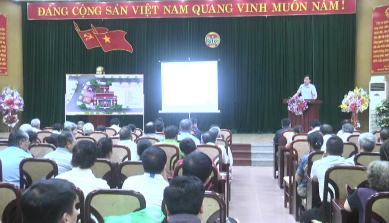 Thành phố: Lấy ý kiến nhân dân về việc phục hồi, tôn tạo di tích chùa Phố Cũ