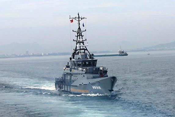 Bộ Tư lệnh BĐBP nghiệm thu 2 tàu tuần tra cao tốc