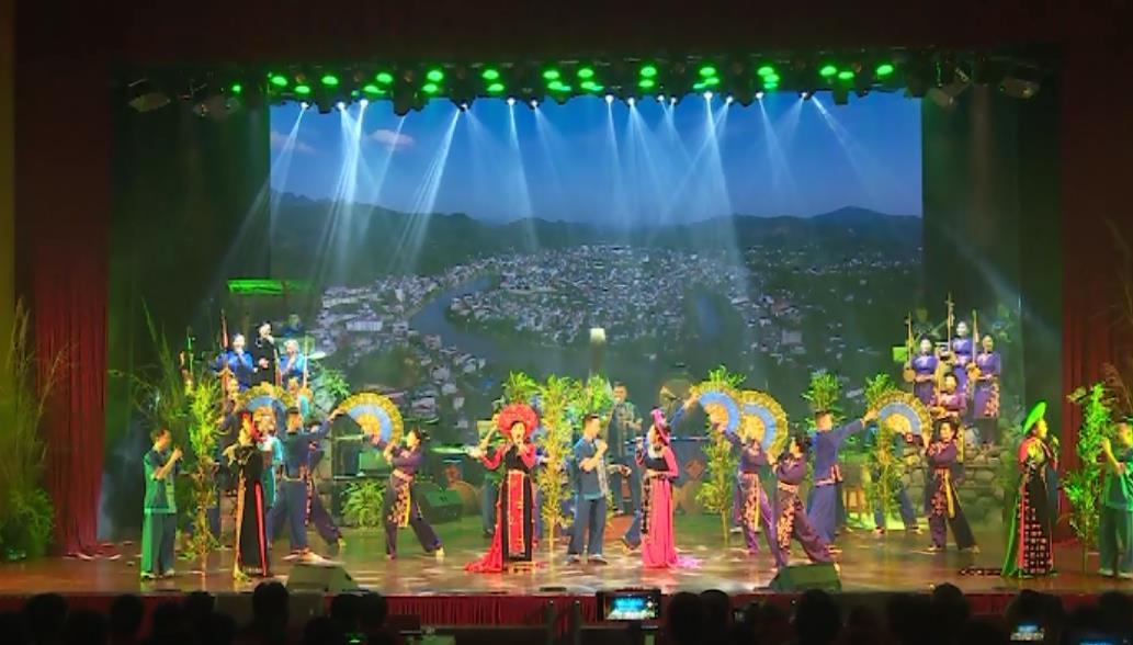 Liên hoan Ca múa nhạc toàn quốc năm 2018: Đoàn Nghệ thuật Cao Bằng diễn thi 14 tiết mục đặc sắc