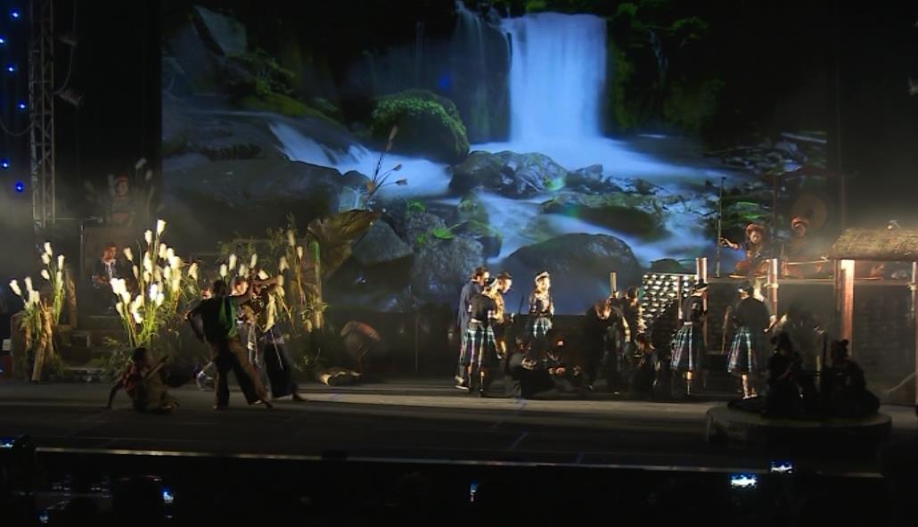 """Liên hoan Ca múa nhạc toàn quốc đợt I năm 2018: Nhạc cảnh """"Mỵ"""" tái hiện không gian văn hóa thuần chất Tây Bắc"""
