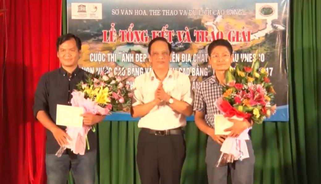 """Tổng kết và trao giải cuộc thi """"Ảnh đẹp về Công viên địa chất UNESCO Non nước Cao Bằng và Du lịch Cao Bằng"""" lần thứ nhất"""