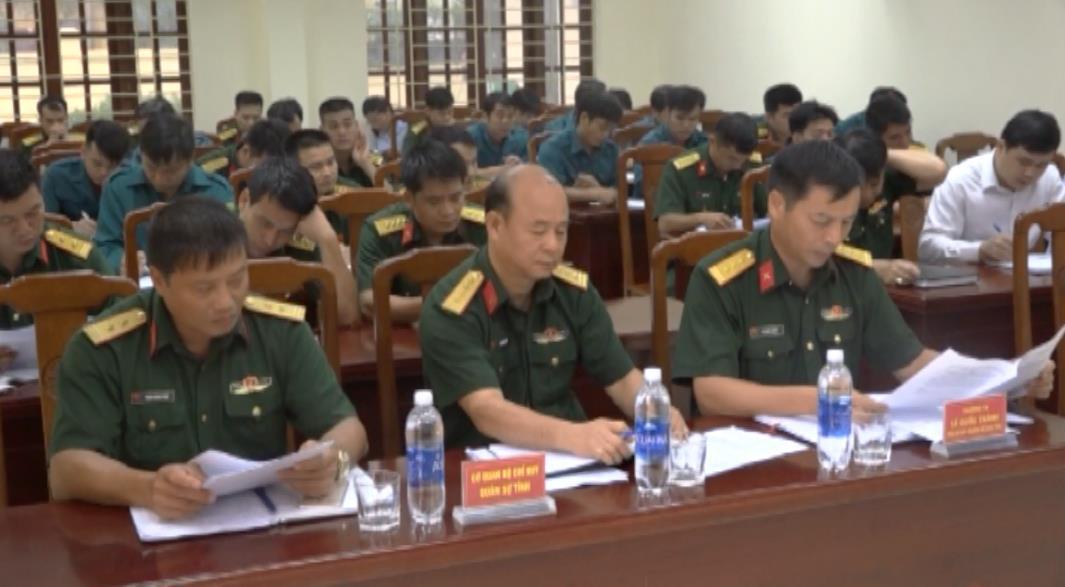 Ban CHQS huyện Quảng Uyên: Sơ kết công tác quân sự, quốc phòng 6 tháng đầu năm