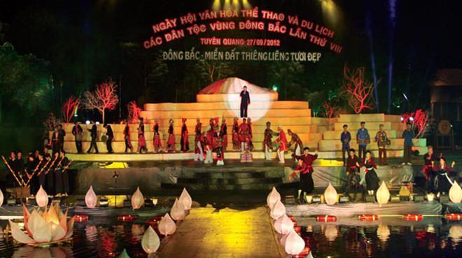 Ngày hội văn hóa, thể thao và du lịch các dân tộc vùng Đông Bắc năm 2018 tổ chức tại Vĩnh Phúc