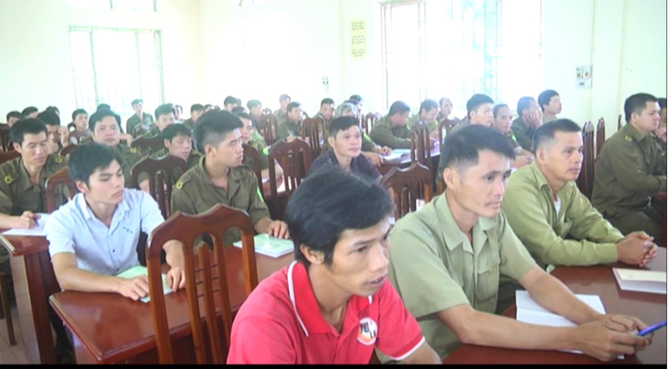 Hà Quảng: 104 công an viên bán chuyên trách được bồi dưỡng nghiệp vụ