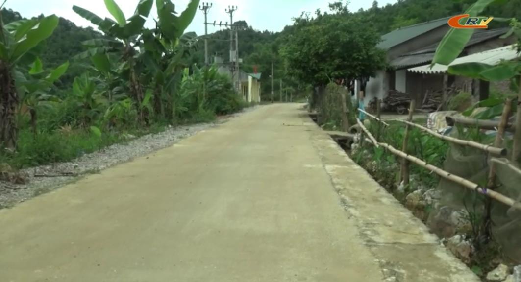 Xã Lương Can (Thông Nông) nỗ lực hoàn thiện các tiêu chí nông thôn mới