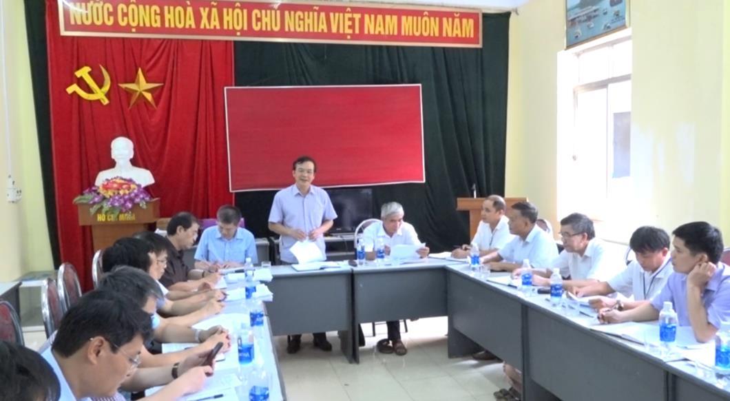 Kiểm tra tình hình thực hiện Chương trình xây dựng nông thôn mới tại huyện Hòa An