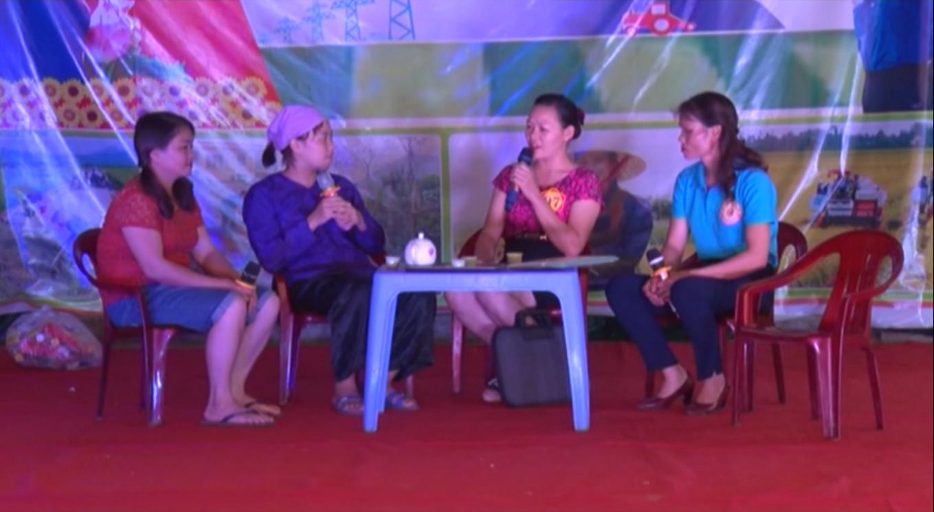 Hòa An: Hội thi Phụ nữ, thanh niên chung sức xây dựng nông thôn mới