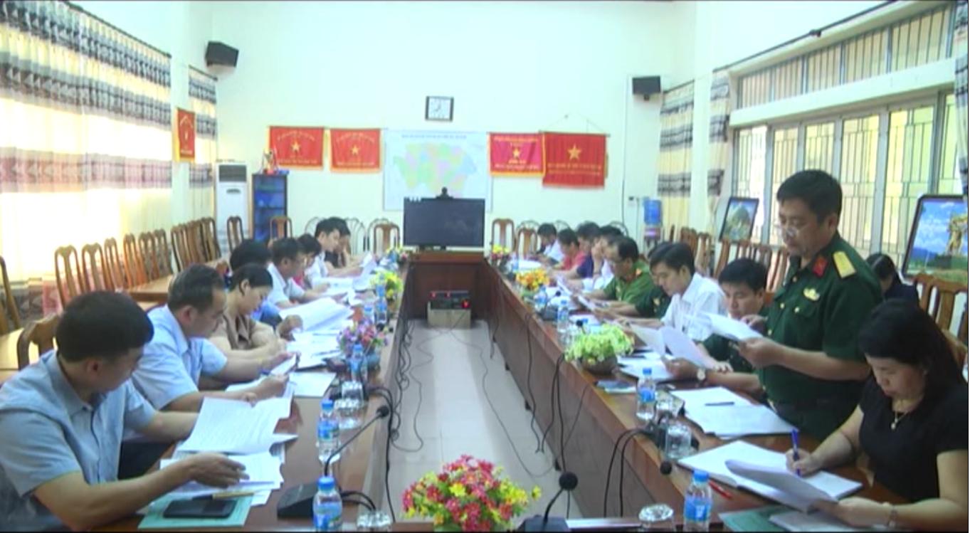 Hà Quảng: Triển khai kế hoạch diễn tập phòng chống thiên tai và tìm kiếm cứu nạn năm 2018