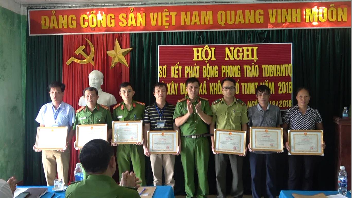 Thạch An: Sơ kết phong trào Toàn dân bảo vệ an ninh Tổ quốc