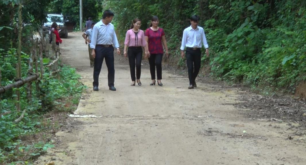 Chu Trinh nỗ lực xây dựng nông thôn mới