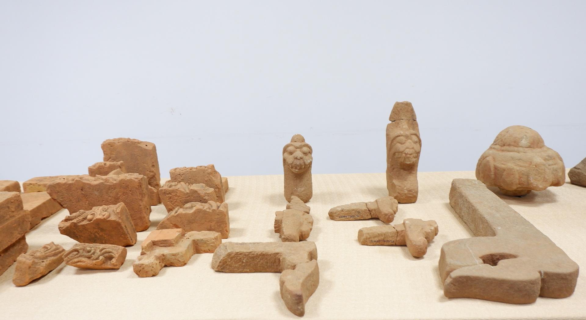 Phát hiện nhiều hiện vật giá trị tại Di tích Chăm Phong Lệ, Đà Nẵng