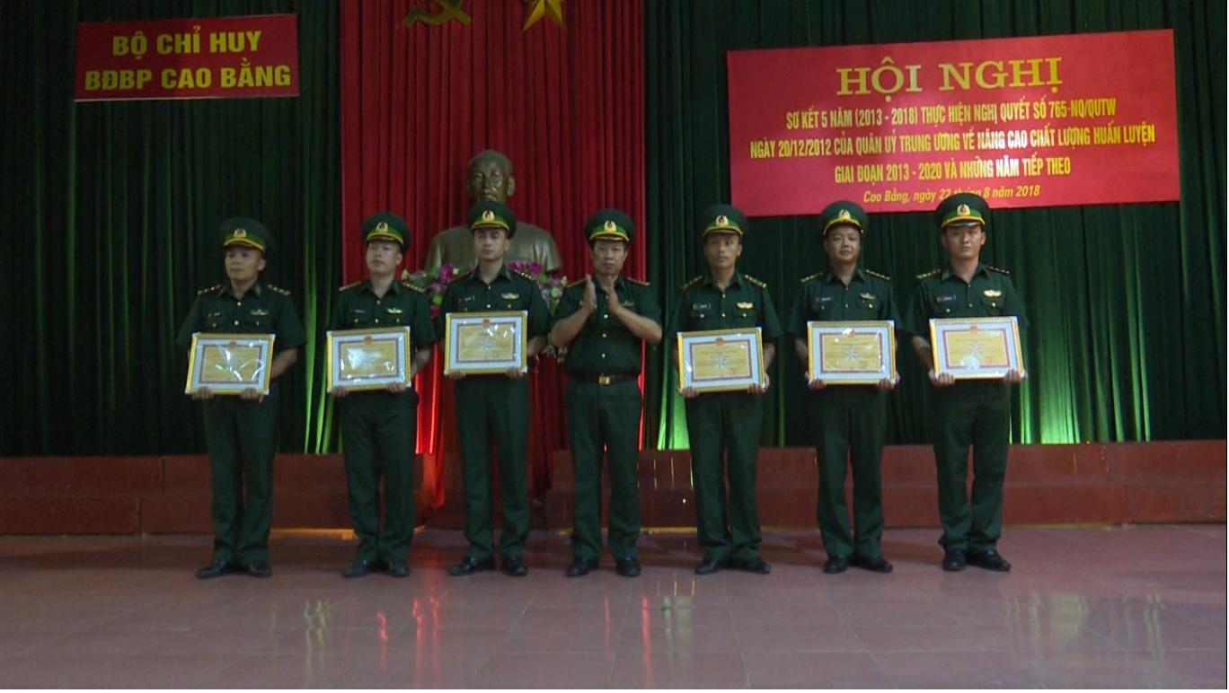 Bộ Chỉ huy BĐBP Cao Bằng: Sơ kết 5 năm thực hiện Nghị quyết 765 của Quân ủy Trung ương