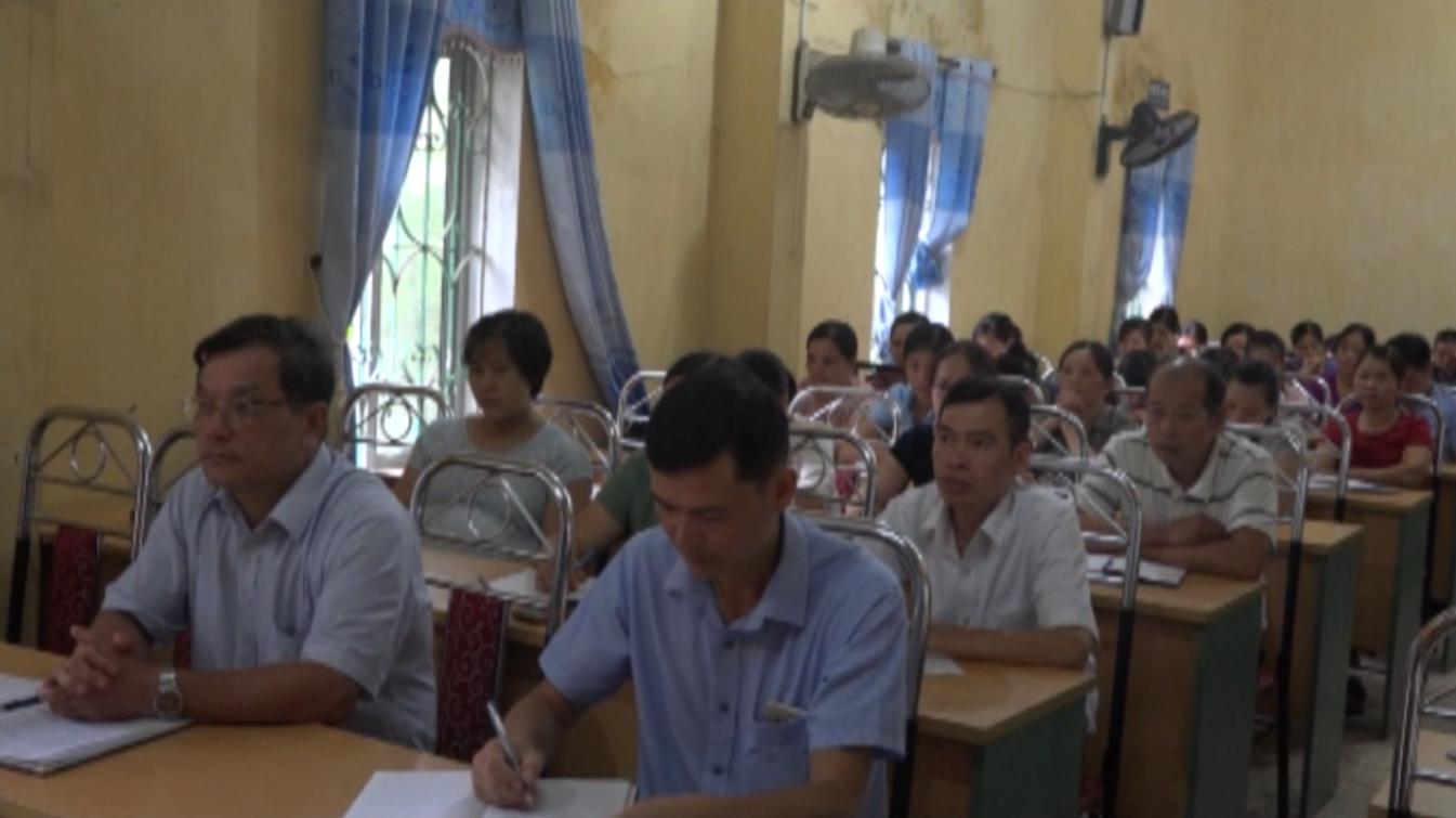 Quảng Uyên: Bồi dưỡng kiến thức quốc phòng an ninh đối tượng 4