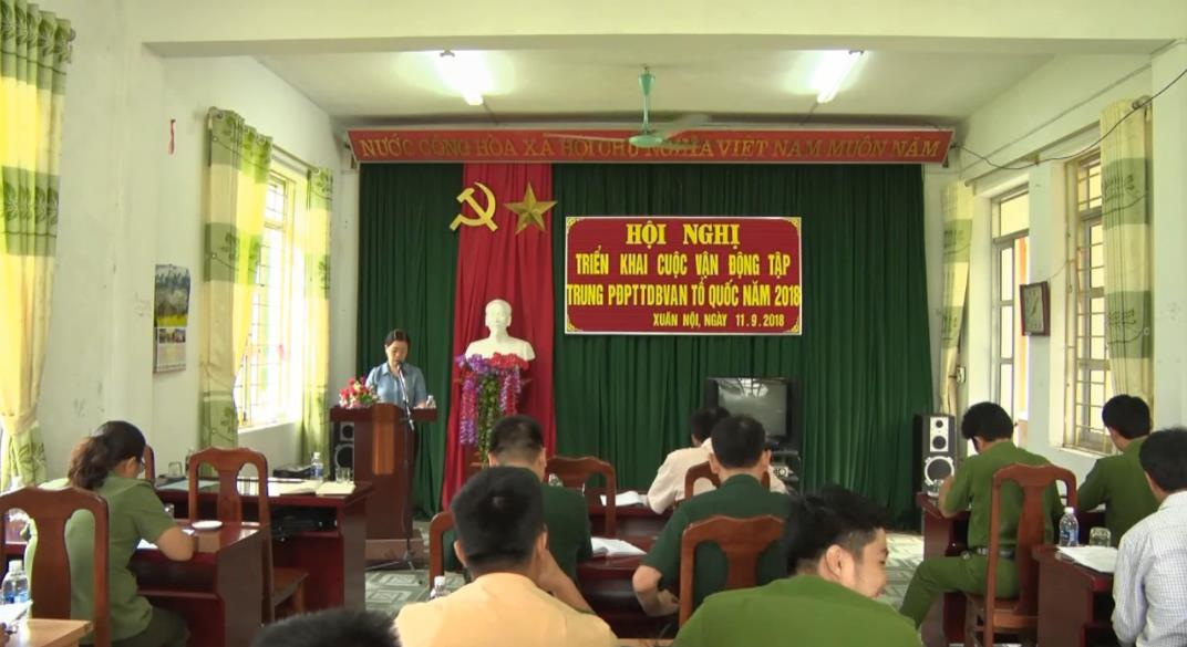 Trà Lĩnh: Phát động phong trào Toàn dân bảo vệ an ninh Tổ quốc tại xã Xuân Nội