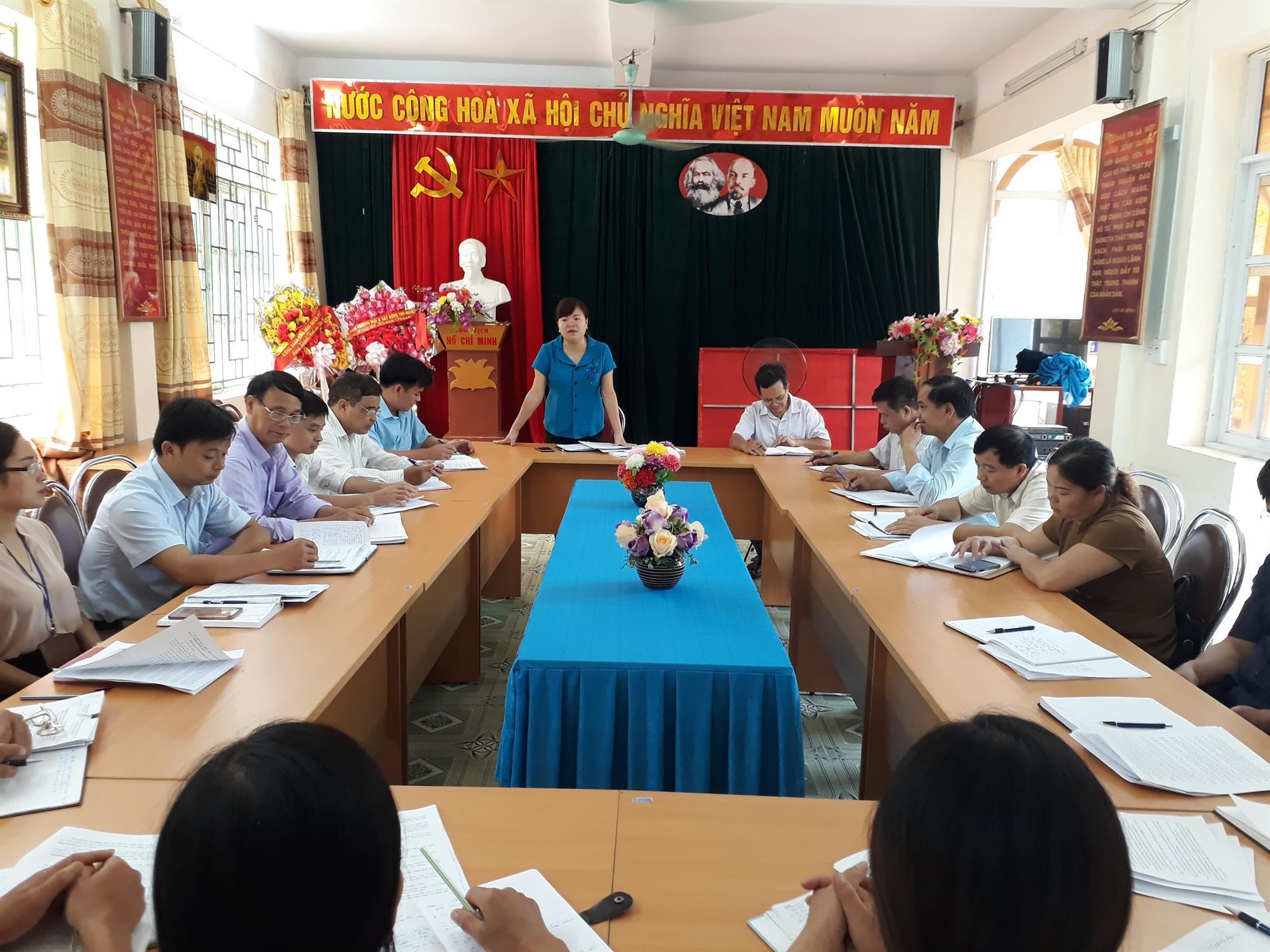 Phục Hòa: Giám sát thực hiện Chương trình MTQG xây dựng nông thôn mới tại hai xã Triệu Ẩu, Hồng Đại