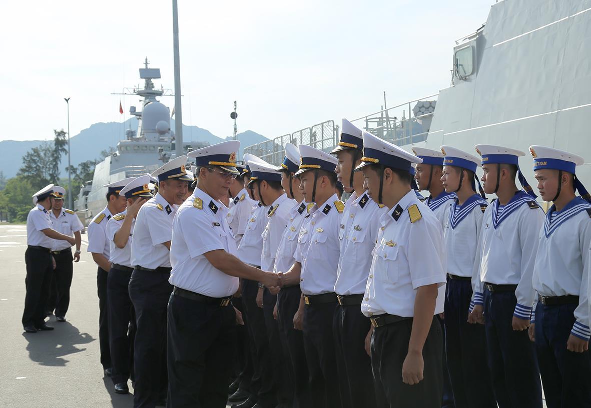 Chiến hạm Việt Nam thăm Nhật Bản, Hàn Quốc, Trung Quốc