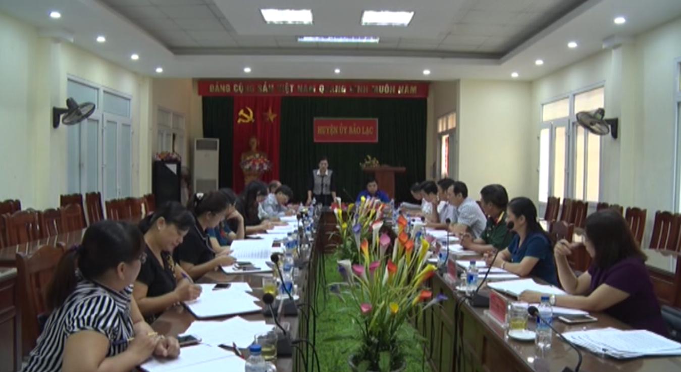 Tỉnh ủy: Giám sát việc nâng cao chất lượng giáo dục, xây dựng trường chuẩn quốc gia và phổ cập giáo dục tại huyện Bảo Lạc