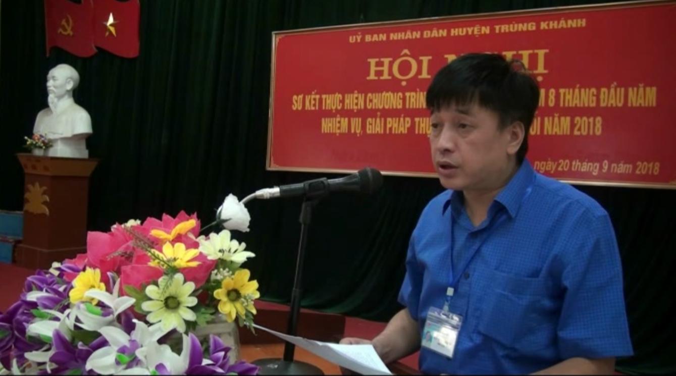 Trùng Khánh: Sơ kết thực hiện Chương trình Mục tiêu quốc gia xây dựng nông thôn mới
