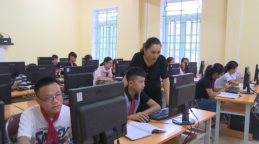 Trường THCS thị trấn Nước Hai - Lá cờ đầu trong phong trào thi đua ngành giáo dục huyện Hòa An