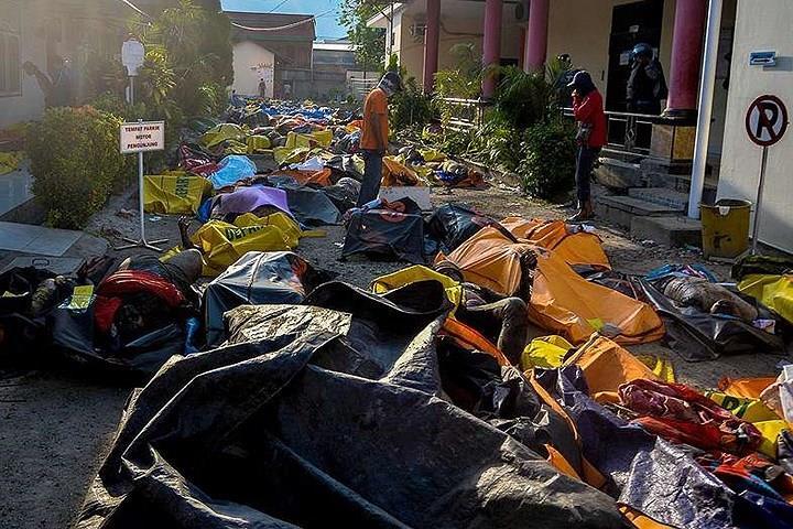 Hình ảnh tang thương, ám ảnh về trận động đất-sóng thần Indonesia