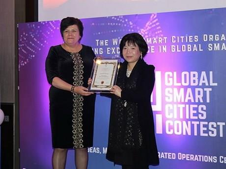Việt Nam đoạt giải xuất sắc tại cuộc thi thành phố thông minh toàn cầu