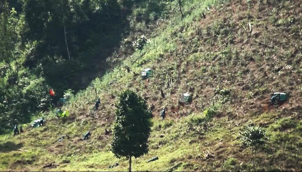 Thông Nông: Diễn tập chiến đấu phòng thủ tại xã Cần Nông