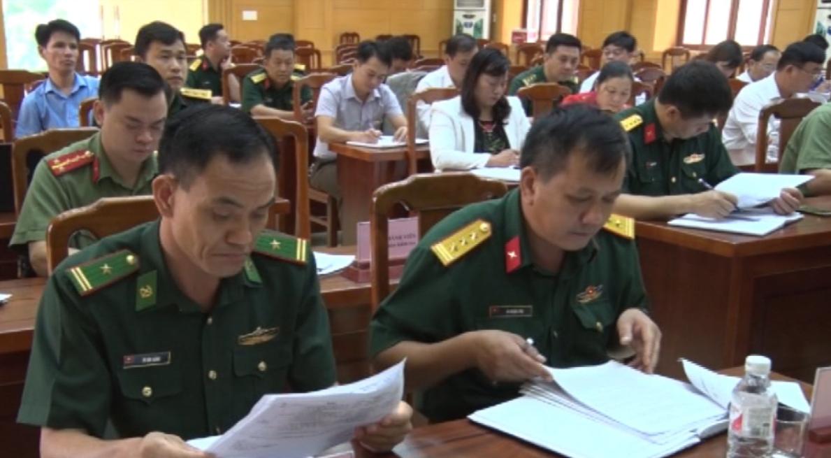 Hội đồng Giáo dục quốc phòng - an ninh tỉnh kiểm tra tại huyện Phục Hòa