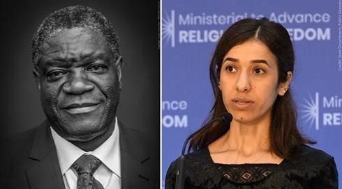 Nobel Hòa bình dành cho người nỗ lực chấm dứt vũ khí bạo lực tình dục