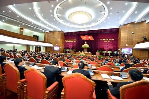 Thông báo Hội nghị Trung ương 8 khóa XII