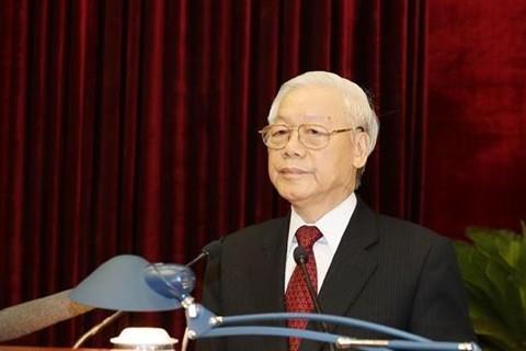 Toàn văn phát biểu của Tổng Bí thư bế mạc Hội nghị Trung ương 8