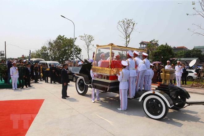 TOÀN CẢNH: Lễ quốc tang nguyên Tổng Bí thư Đỗ Mười