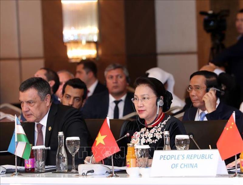 Việt Nam ủng hộ những hoạt động hợp tác với các nghị viện Á Âu
