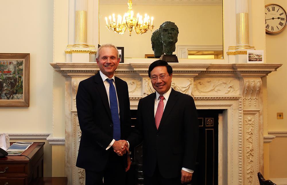 Tăng cường hợp tác giữa hai Chính phủ Việt Nam - Anh