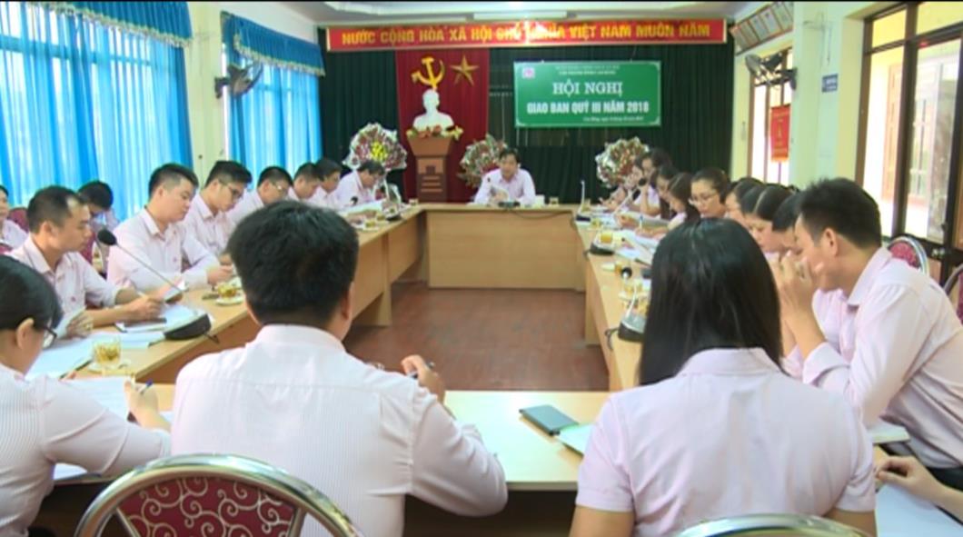 Chi nhánh Ngân hàng CSXH tỉnh Cao Bằng: Tổng dư nợ cho vay đạt 96% kế hoạch tăng trưởng
