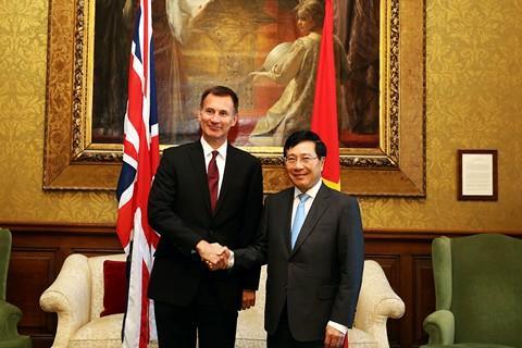 Tuyên bố chung giữa Việt Nam và Liên hiệp Vương quốc Anh và Bắc Ireland