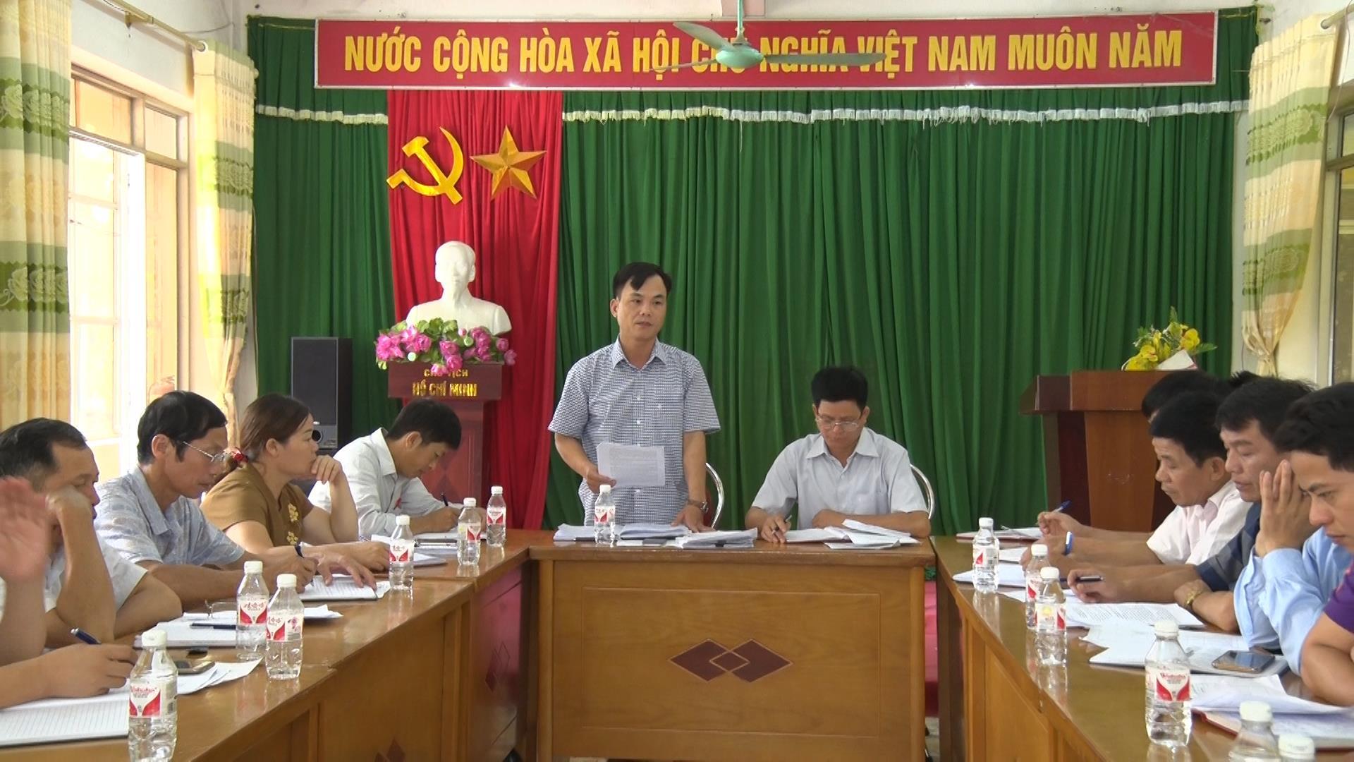 HĐND huyện Phục Hòa: Giám sát tình hình thực hiện chế độ, chính sách công tác giải phóng mặt bằng tại thị trấn Tà Lùng