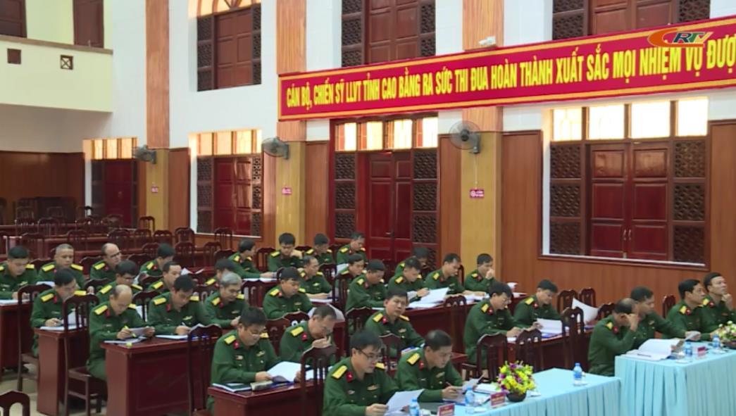 Bộ CHQS tỉnh: Triển khai công tác quốc phòng - quân sự địa phương những tháng cuối năm