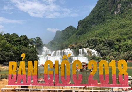 Miễn phí vé tham quan trong thời gian tổ chức Lễ hội du lịch thác Bản Giốc lần thứ II năm 2018