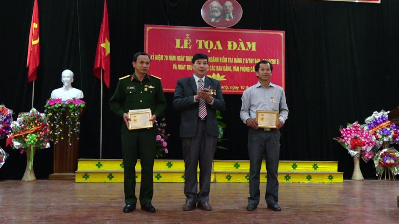 Hạ Lang: Kỷ niệm 70 năm Ngày truyền thống ngành Kiểm tra Đảng