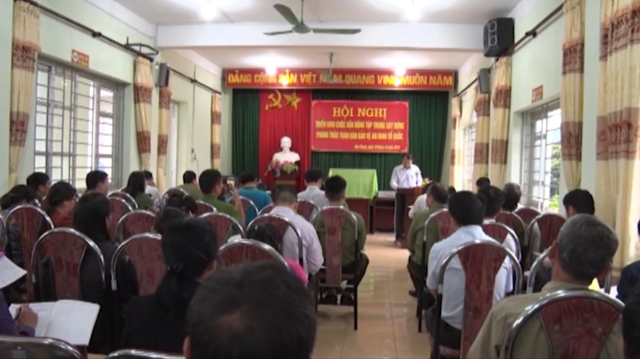 Phục Hòa: Triển khai cuộc vận động tập trung xây dựng phong trào Toàn dân bảo vệ an ninh Tổ quốc năm 2018 tại thị trấn Hòa Thuận