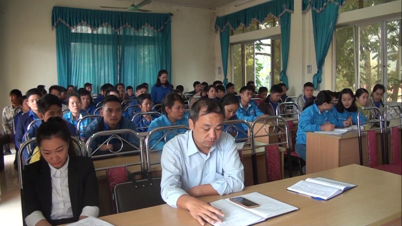 Thông Nông: Tập huấn kỹ năng, nghiệp vụ công tác Đoàn - Hội