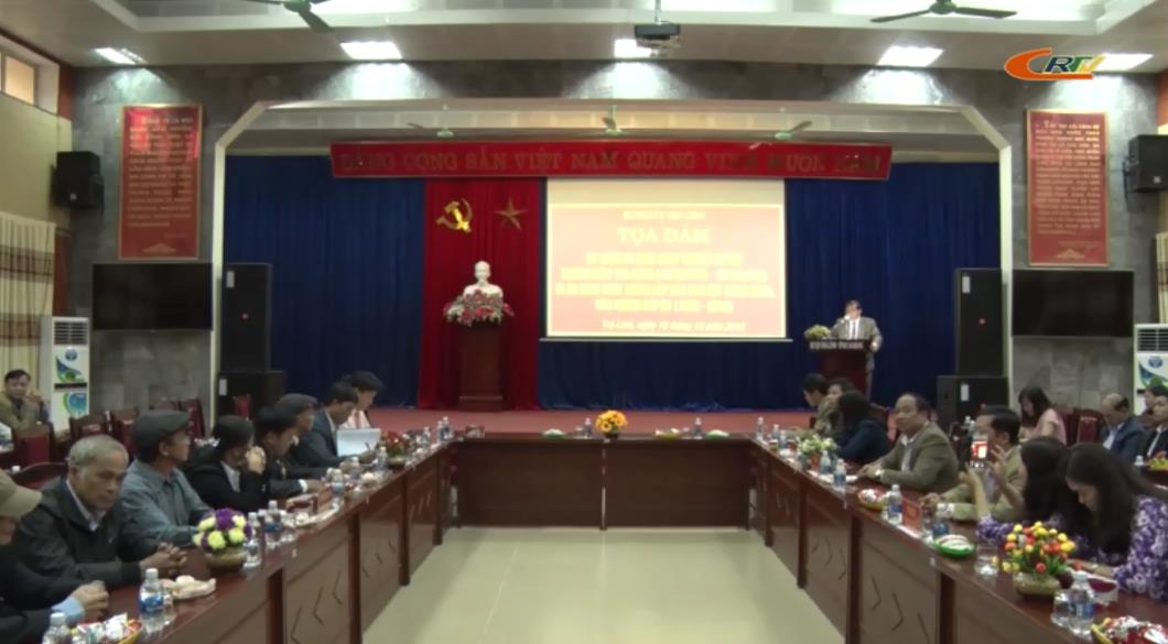 Trà Lĩnh: Tọa đàm kỷ niệm 70 năm ngày truyền thống ngành Kiểm tra Đảng