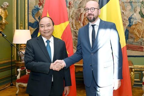 Việt Nam, Bỉ ra Tuyên bố chung