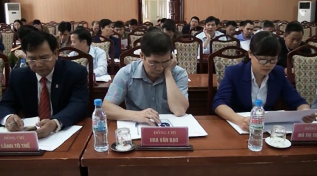 Bảo Lâm: Hội nghị lần thứ 17 Ban Chấp hành Đảng bộ huyện khóa IV