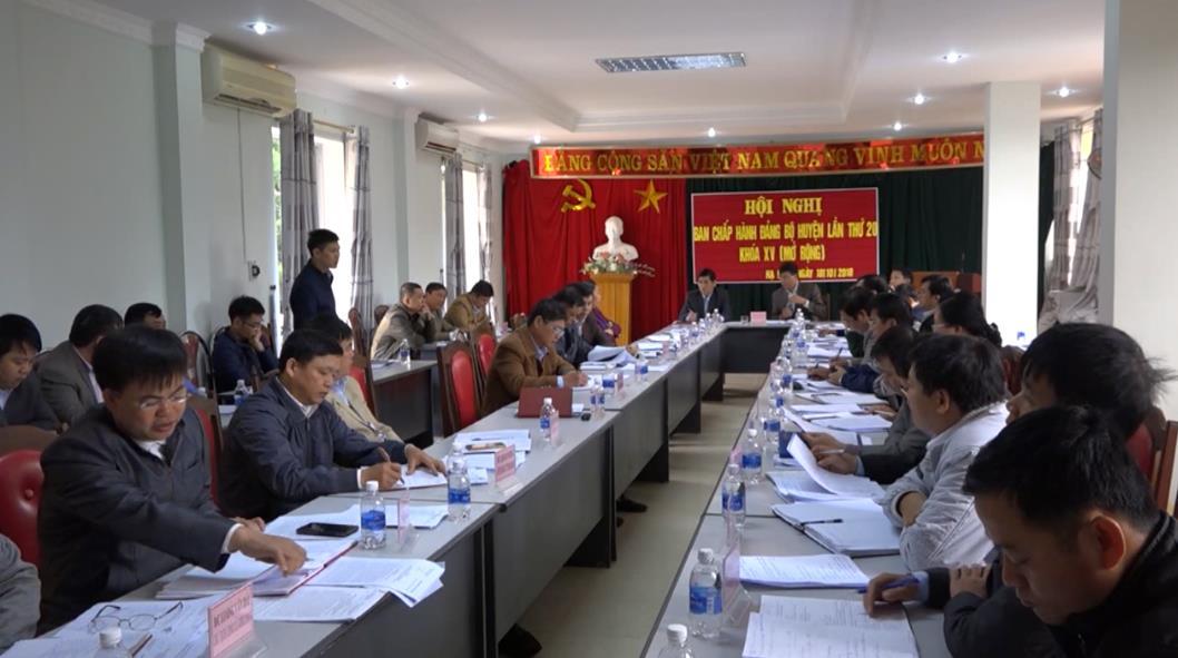 Huyện ủy Hạ Lang: Triển khai công tác 3 tháng cuối năm