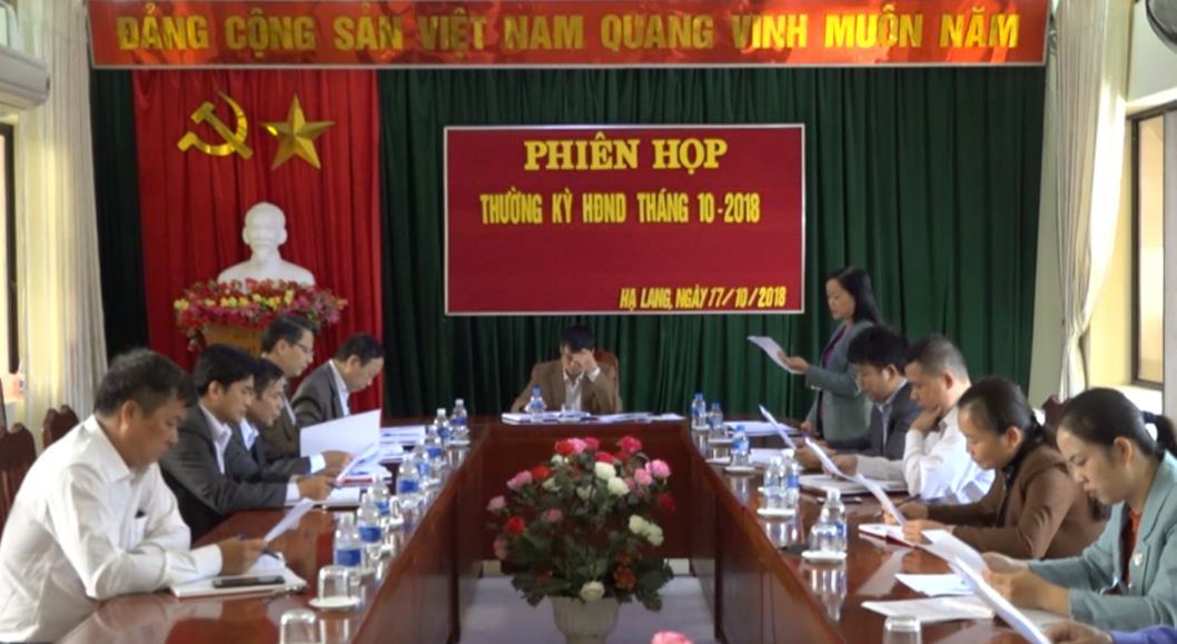 Hạ Lang: Kỳ họp thứ 8 HĐND huyện sẽ diễn ra từ ngày 18 - 19/12