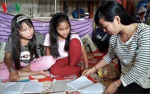 Tỷ lệ học sinh dân tộc thiểu số đi học THPT chỉ đạt hơn 41%