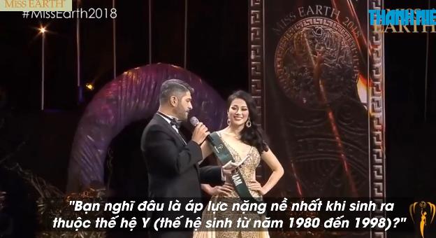 Cô gái xứ Dừa Bến Tre đăng quang Hoa hậu Trái đất 2018